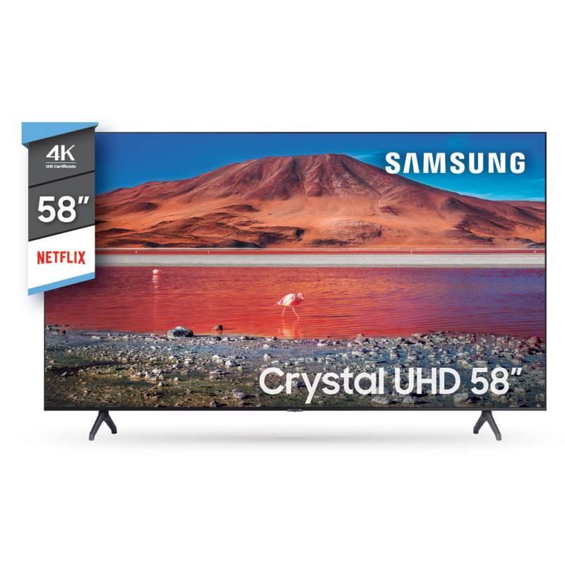 "Samsung - Smart TV 58"" UN58TU7000GCZB 4K Ultra HD"
