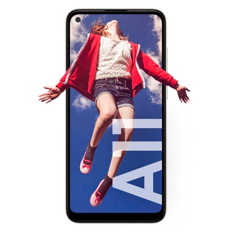 Samsung - Celular libre A11 Blanco 64GB 4GB RAM