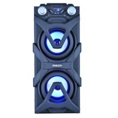 Philips - Parlante Djp10 bluetooth activo usb luz led