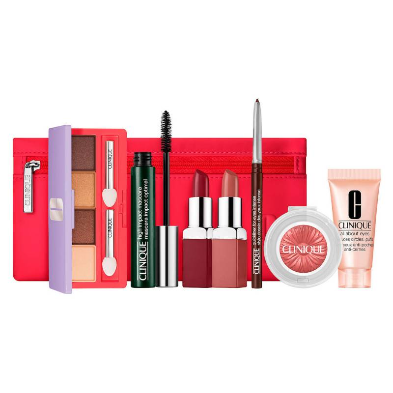 Clinique - Set de maquillaje From Daylight to Date Night ¿ 7 productos + Cosmetiquera