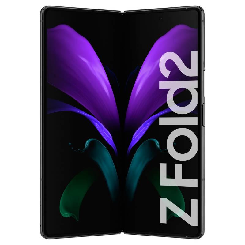 Samsung - Celular libre Z Fold 2 Negro 256GB 12 GB RAM