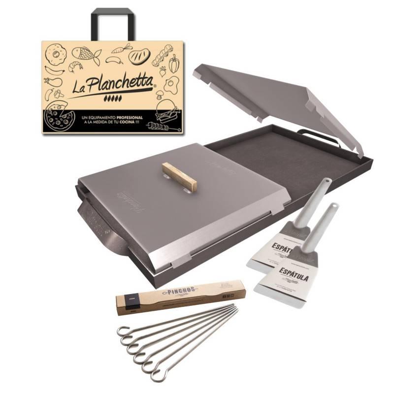 La Planchetta - Planchetta 2H +2 espátulas + pinchos + bolsa de regalo