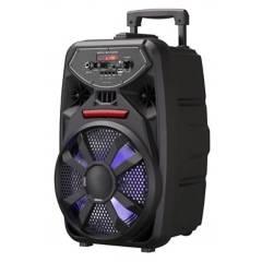 Sricam - Parlante bluetooth portátil c/ micrófono 8 ¨