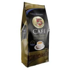 5 Hispanos - Cafe en grano premium