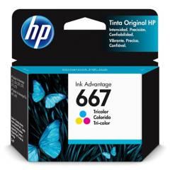 HP - Tinta 667 tricolor