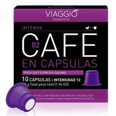 Viaggio - Café en cápsulas espresso Intenso