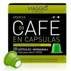 Viaggio - Café en cápsulas espresso Arábica