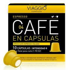 Viaggio - Café en cápsulas Espresso