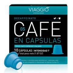 Viaggio - Café en cápsulas espresso Descafeinato