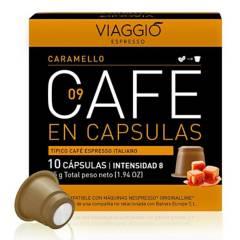 Viaggio - Café en cápsulas espresso Caramello