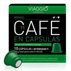Viaggio - Café en cápsulas espresso Brasil