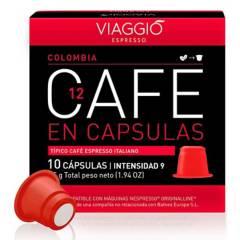 Viaggio - Café en cápsulas espresso Colombia