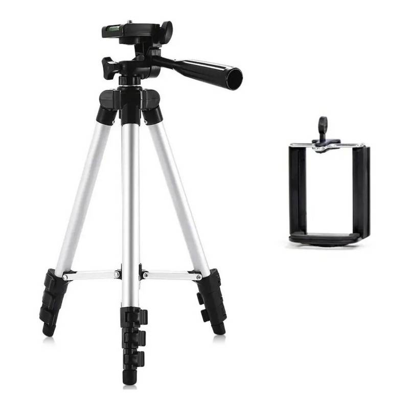 Generica - Trípode cámara Y celular Extensible Hasta 1.02 mt