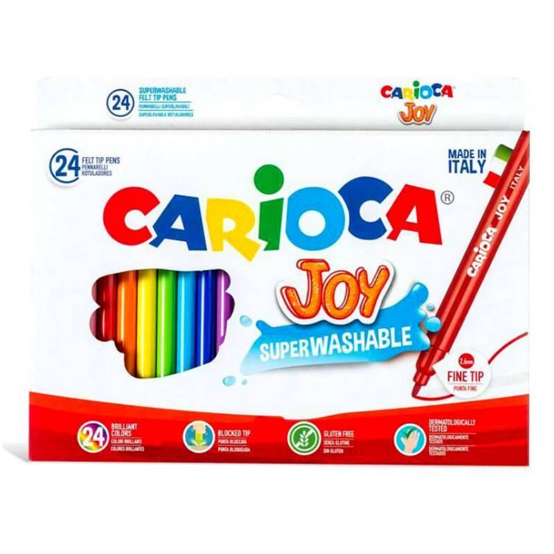 Generica - Marcadores Joy superlavables 24 colores