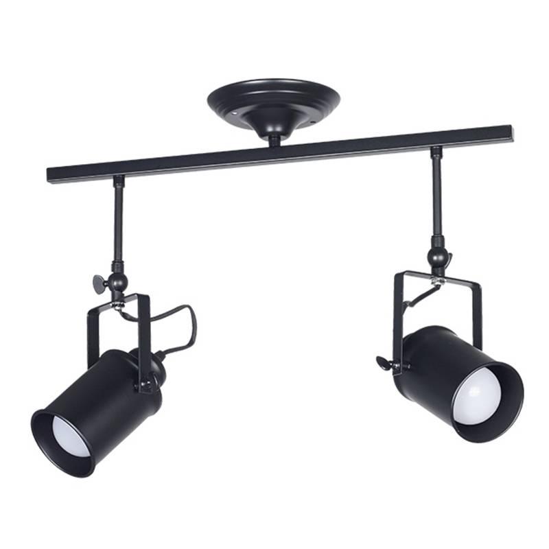 Lámpara aplique led riel  metal roloi II E27