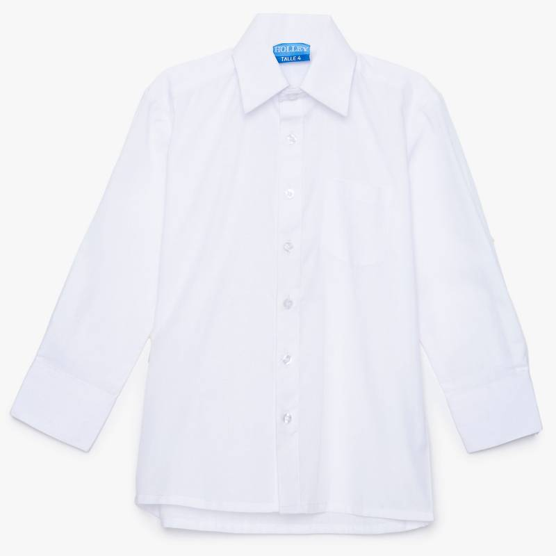 Holley - Camisa colegial lisa 4 a 39