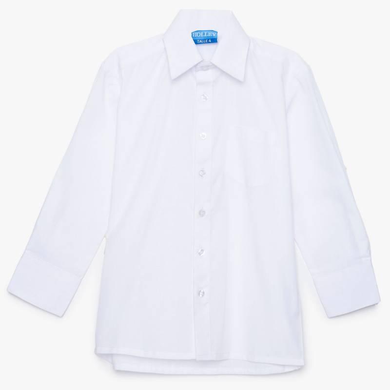 Holley - Camisa colegial lisa 4 a 39