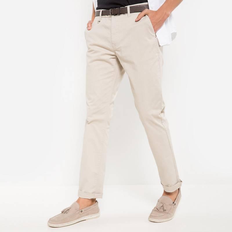 Basement - Pantalón Chino con cinturón