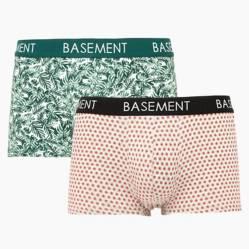 Pack por 2 boxers estampados