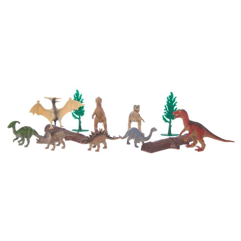 Animal World - Set de 12 dinosaurios