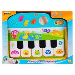 WinFun - Piano de cuna con sonido de cinco animales