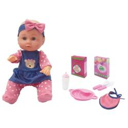 Uneeda - Little Luv: muñeca con accesorios