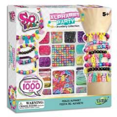 So Beads - Set de pulceras y mostacillas 1000 piezas