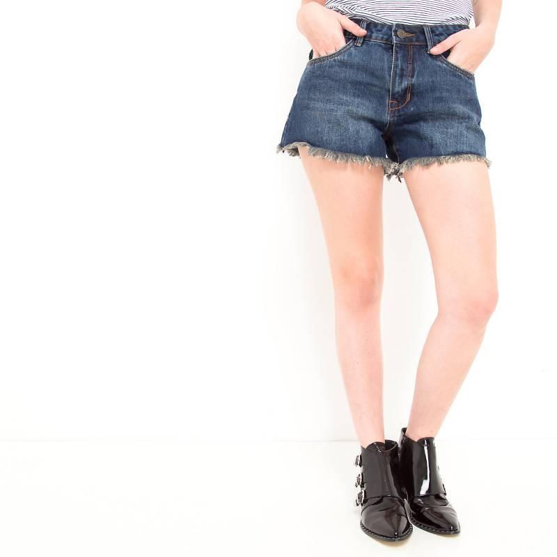 Basement - Short con flecos