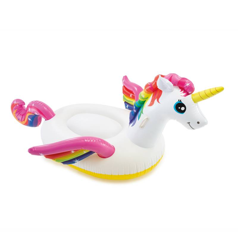 Intex - Inflable unicornio ride-on