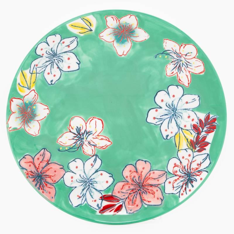 Roberta Allen - Plato de postre flori 21 cm