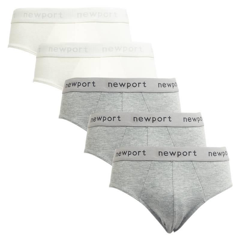 Newport - Pack por 5 slips lisos