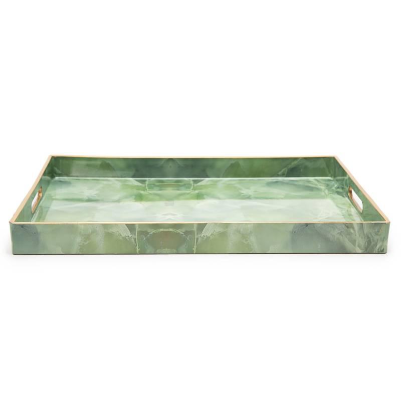 Mica - Bandeja marmoleada 48x35 cm