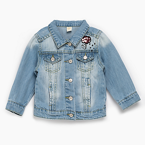 Campera denim 6 a 24 meses