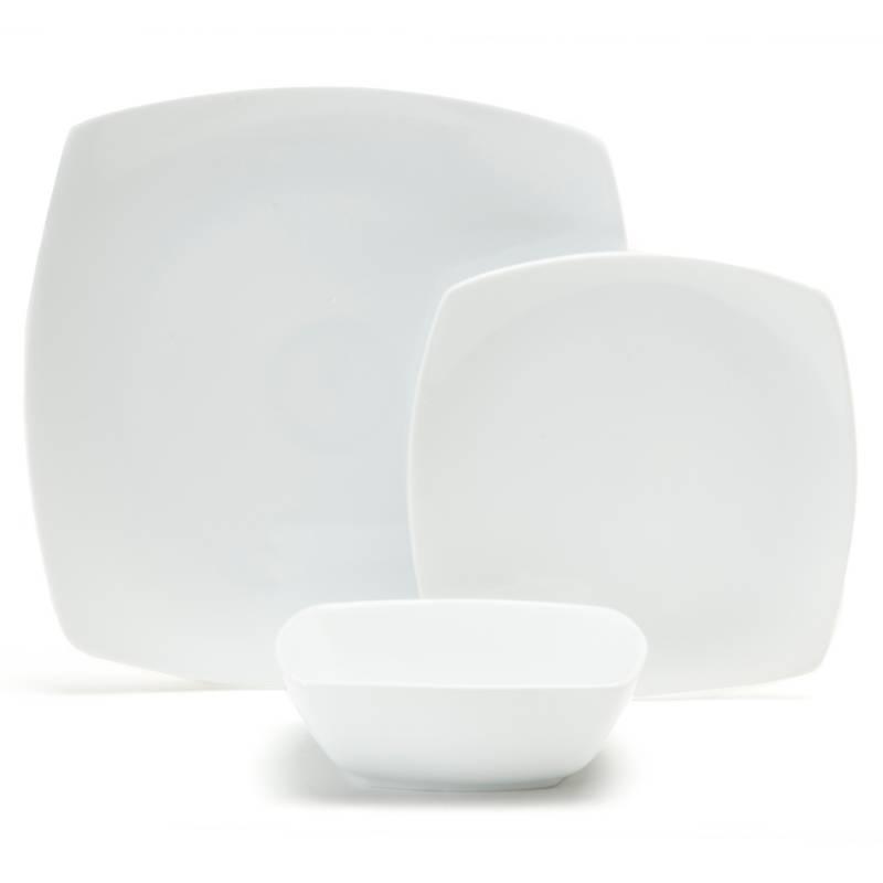 Basement Home - Juego de vajilla porcelana Essencial 18 piezas
