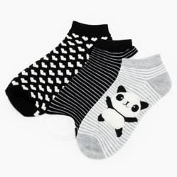 Sybilla - Soquetes pack por 3 Panda