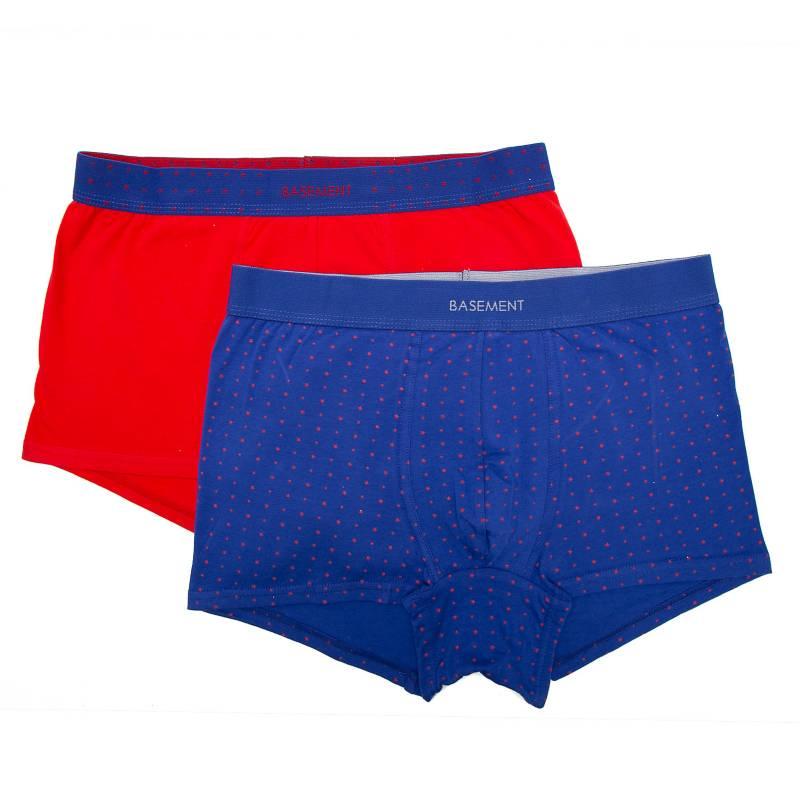 Basement - Pack por 2 boxers estampados