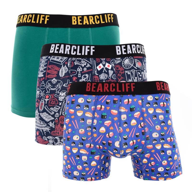 Bearcliff - Pack por 3 boxers Print