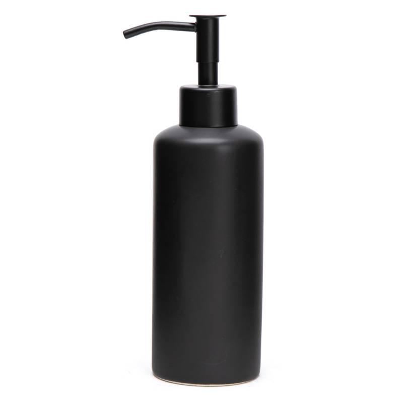 Mica - Dispenser de jabón Black 21x6 cm
