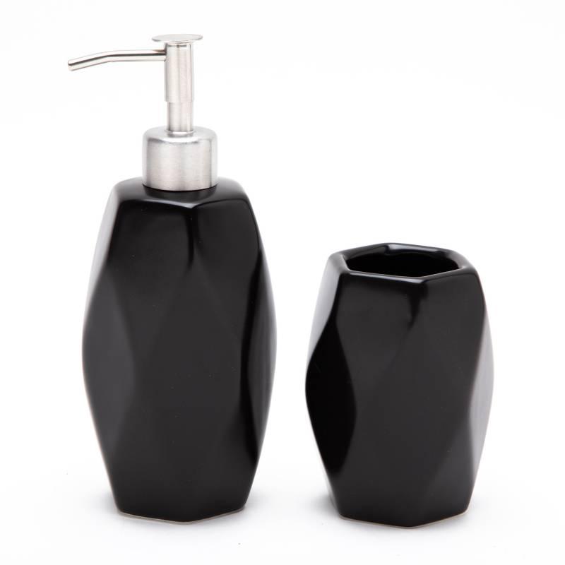 Mica - Set dispenser y vaso Bath