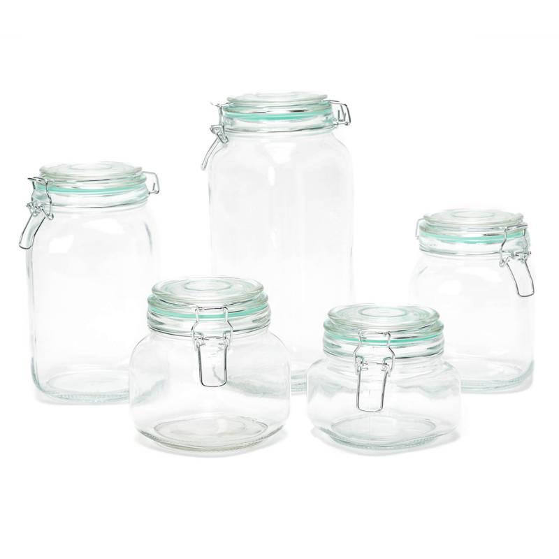 Mica - Set por 5 frascos herméticos