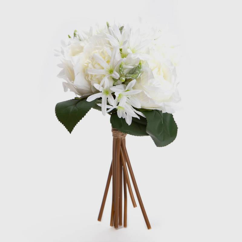 Mica - Ramo Rose bundle sintético 35 cm