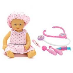 Peekaboo - Muñeca con accesorios de doctor