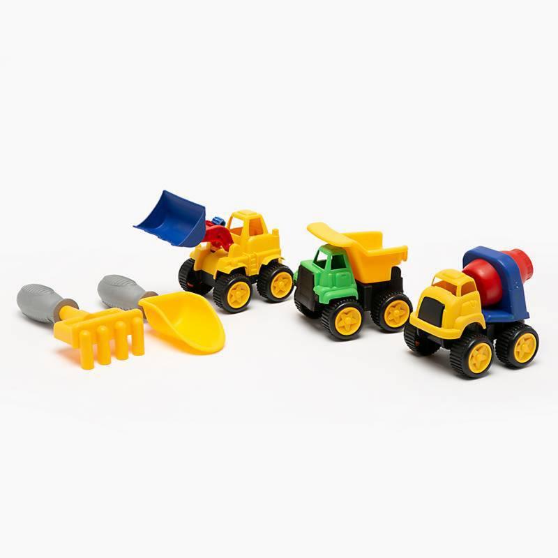 KidsNplay - Set camiones de construcción