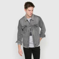 Campera denim lisa