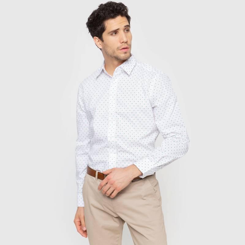 Newport - Camisa sport Miniprint