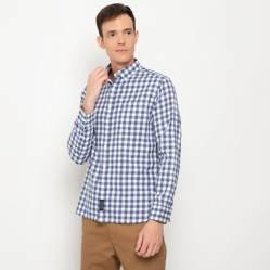 University Club - Camisa a cuadros