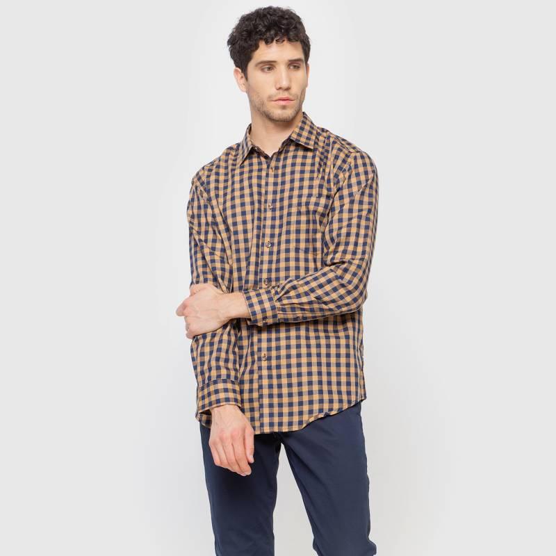 Newport - Camisa sport Check