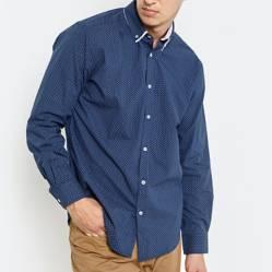 Newport - Camisa de vestir con puntos