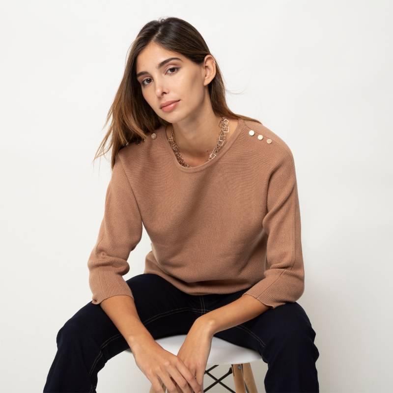 Basement - Sweater con apliques