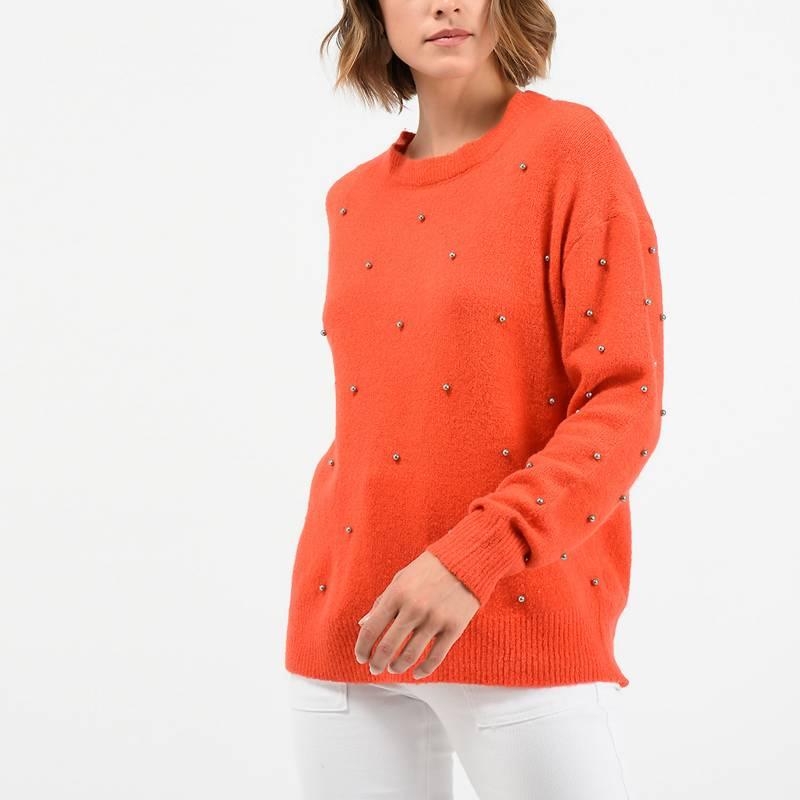 University Club - Sweater con apliques